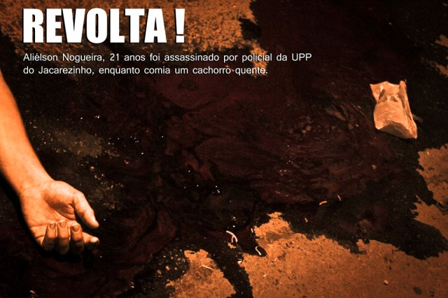 Execução na favela do Jacarezinho