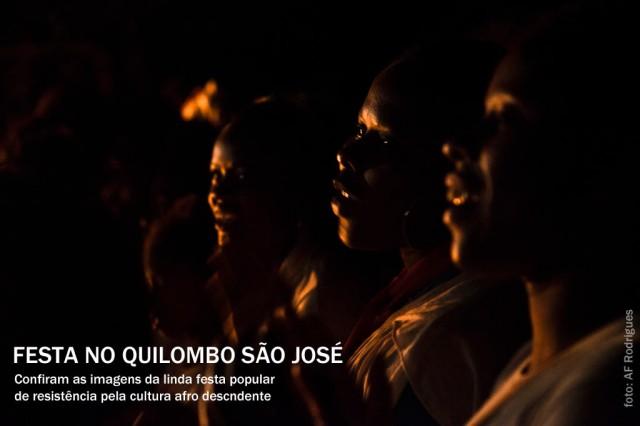 Festa do Quilombo São José 2013. Valença.